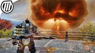 Fallout 76: Nuke Gameplay (Multiplayer Nuclear Weapons)