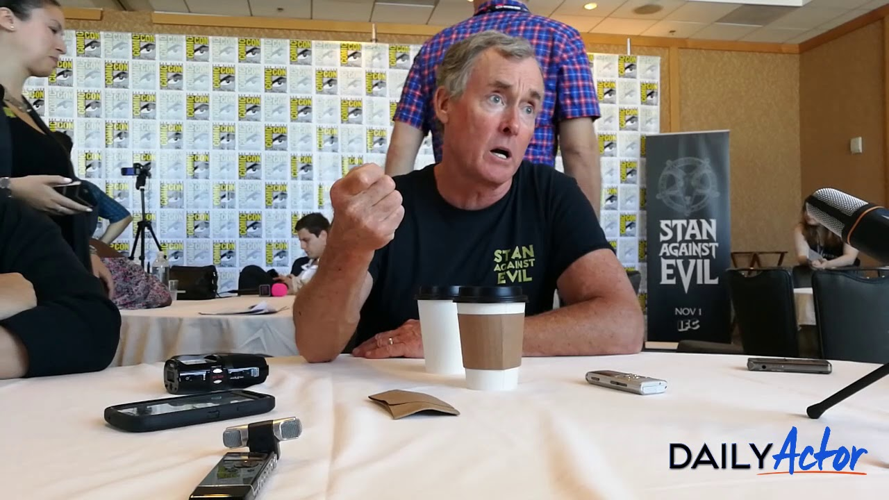 John C McGinley Talks Stan Against Evil At Comic Con Daily Actor