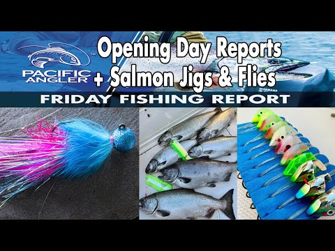 Vancouver Fishing Report - Sept 4th Saltwater Reports + Salmon Jigs And Flies