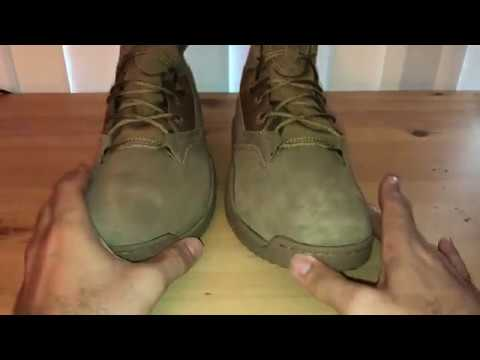 "best service 32b00 0bfd8 Nike SFB Field 2 Boot 8"" Leather Coyote - YouTube"