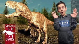 Its a Real Savage!! New Roblox Update in Dinosaur World (TJay)