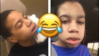 YBN Nahmir Gets his Wisdom Teeth Removed (FUNNY) 😂😂