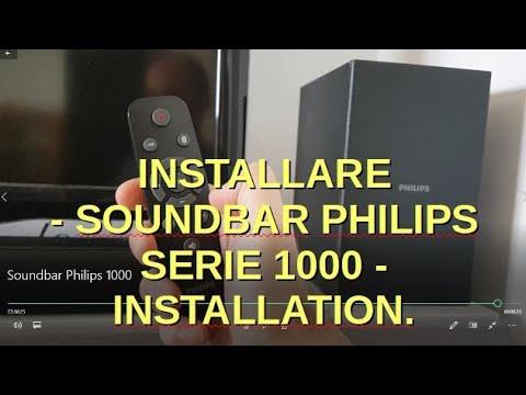 Installare - Soundbar