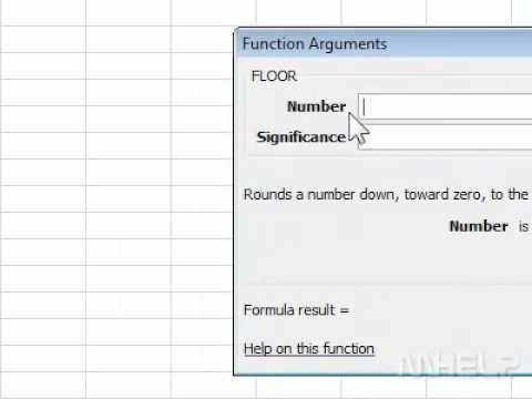 Superior How To Use The FLOOR Function In Excel