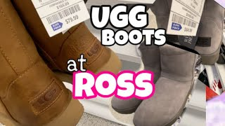 Shopping I found Ugg Boots at Ross 2020
