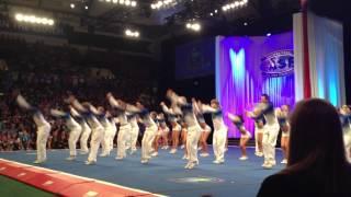 Cheer Athletics- Cheetahs Worlds 2012