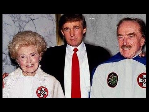 Crazy Photo Donald Trump Parents in KKK Robes Reaction @Hodgetwins