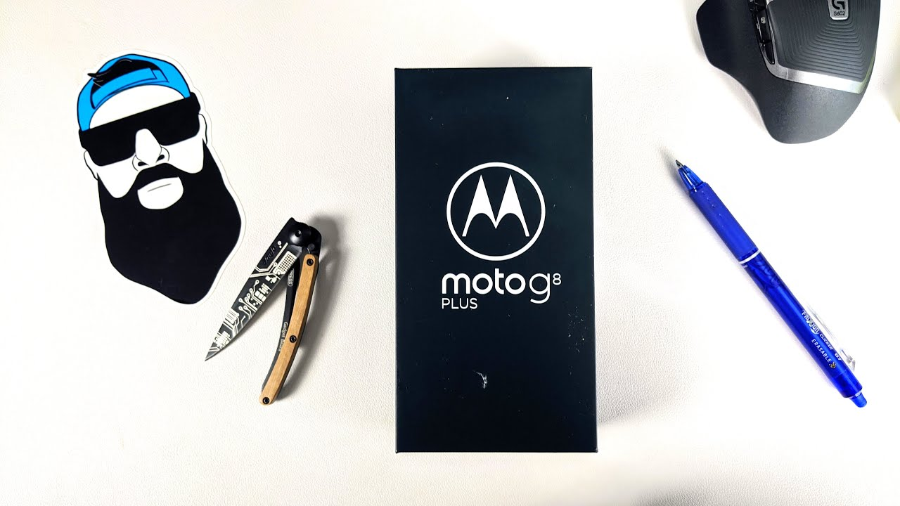 Moto G8 Plus Unboxing, Better Than The Moto G Stylus?