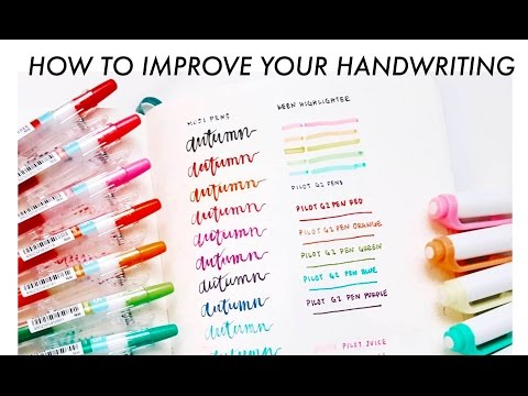 how to improve your handwriting (in 3 easy steps)