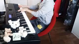 [Piano cover] Music : 환상마전 최유기(幻想魔伝 最遊記) O.S.T - For Real (piano solo ver.) Piano cover & arranged by AD FHD video Thanks for watching this ...