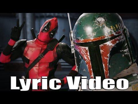 ERB | Deadpool vs Boba Fett Lyrics Video(HD)