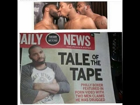 Philly Boxer Caught in Porno with 2 Other Men Showing them