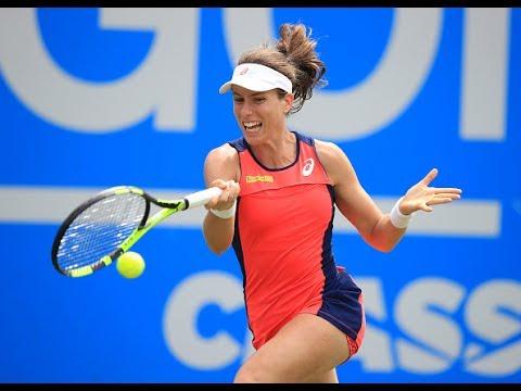 2017 Aegon Classic First Round | Johanna Konta vs Lesia Tsurenko | WTA Highlights