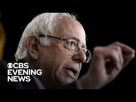 Bernie Sanders joins growing Democratic field of 2020 candidates