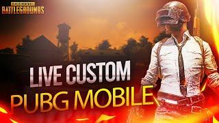 Live FREE Custom Room Pubg Mobile 🔴