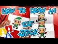 How To Draw An Elf Stack (Folding Surprise)