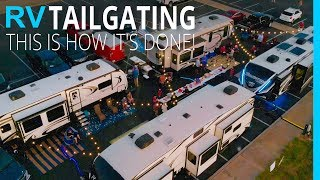 RV Tailgating: Behind the Scenes of College Football