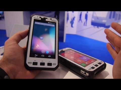 Panasonic Toughpad FZ-E1 and Z1 Hands on