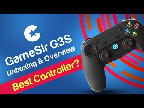 GameSir G3s Bluetooth Gaming Controller (Gamepad) for Android/PC/PS3 - Unboxing & Overview