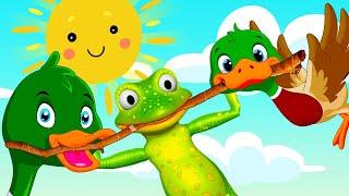 Лягушка-путешественница - Сказка для детей / Мультфильм для детей / Машулины сказки детям и малышам