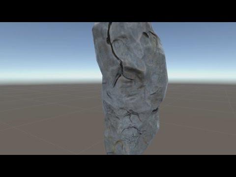 Rock - game asset tutorial - complete workflow