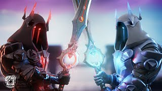THE ICE KING AND FIRE KING MEET?! *NEW SEASON 7* - A Fortnite Short Film