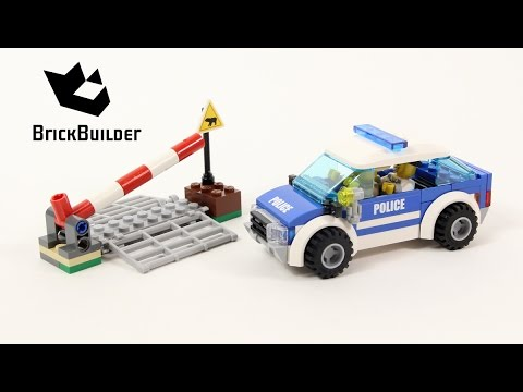 Lego City 4436 Patrol Car Speed Build For Collecrors Forest Police Collection 2 9 Youtube
