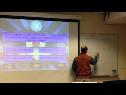 Network Fundamentals Final Exam Review