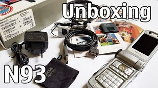 nokia N93 Unboxing 4K with all original accessories Nseries RM-55 review