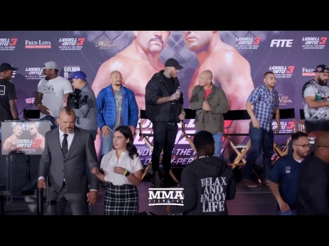 Chuck Liddell vs Tito Ortiz Press Conference - MMA Fighting