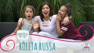 DESAFIO ROLETA RUSSA ft. FLÁVIA E MARIA CLARA PAVANELLI