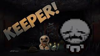 TBoI: AFTERBIRTH - ¡Personaje oculto: KEEPER!  TODO SU ORIGEN
