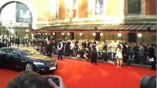 William and Kate arrive at Royal Albert Hall