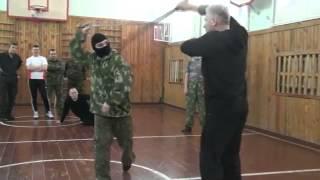 Сергей Полунин Работа с шашкой