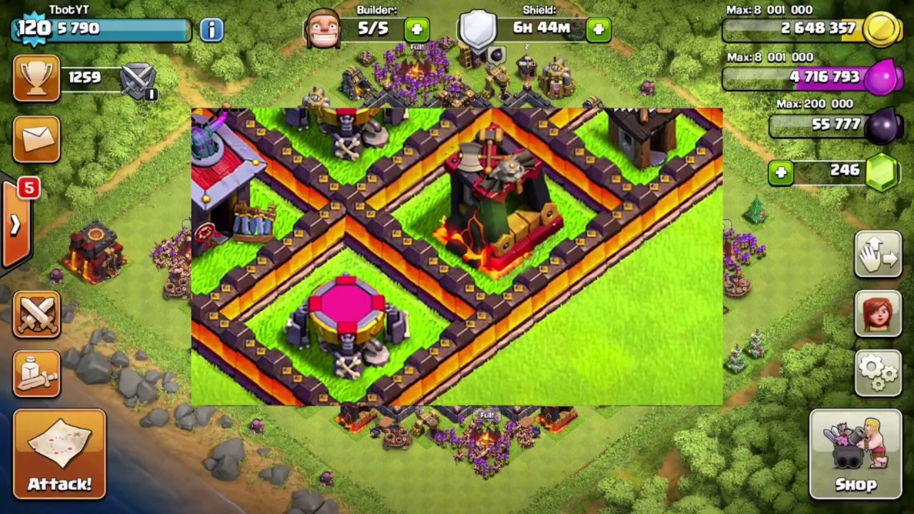 Clash Of Clans - Dark Barracks Level 5 New Dark Troop July ...