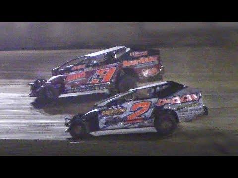 RUSH Sportsman Modified Feature | Eriez Speedway | 8-6-17