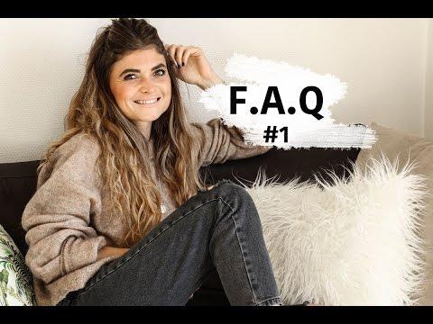 F.A.Q #1 : Études, Métier, Blog