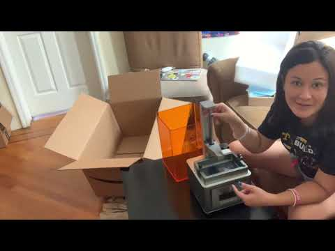 Unboxing MARS DLP 3D Printer