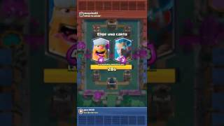 first video (challenge of choice) Clash royale