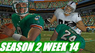 TO THE VERY END - MADDEN 2004 DOLPHINS FRANCHISE VS RAIDERS - S2W14
