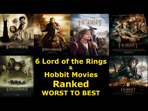 6 Lord of the Rings and Hobbit Movies Ranked Worst to Best - Ranked #8