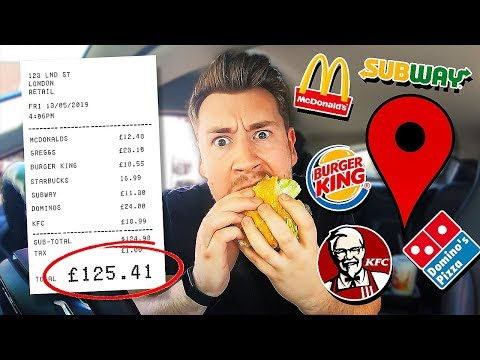 Letting Fast Food Employees Decide What I Eat For 24 Hours *