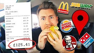 Download Letting Fast Food Employees Decide What I Eat For 24 Hours *FOOD CHALLENGE* Mp3 and Videos