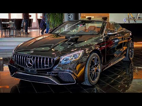 '18-20' Mercedes-Benz S 63 AMG Cabriolet REVIEW INTERIOR EXTERIOR