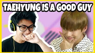 Download lagu BTS Taehyung is NOT dirty mind reaction!!