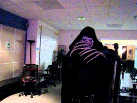 Grim Reaper Sings Karaoke
