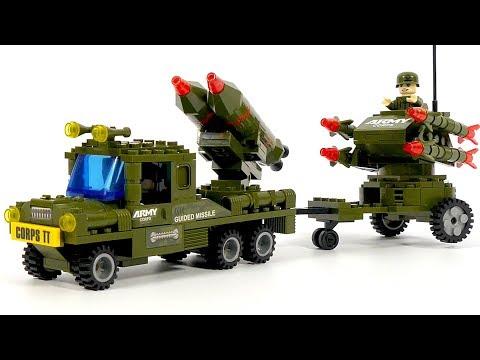 Ausini 22505 rocket launcher truck
