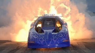 HEAT WAVE Jet Car Drag Race!