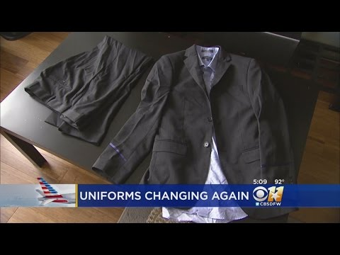 American Airlines New Uniforms