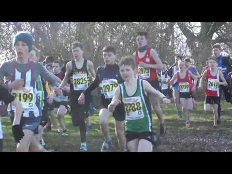 2018 National XC Champs for U13 Boys
